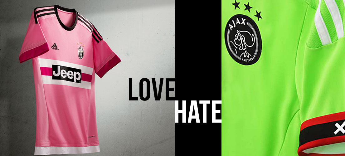 5 Football Kits You'll Either Love Or Hate In 2015