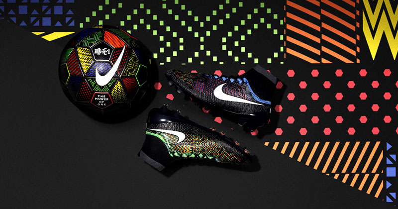 Black history Month Nike Magista football boots
