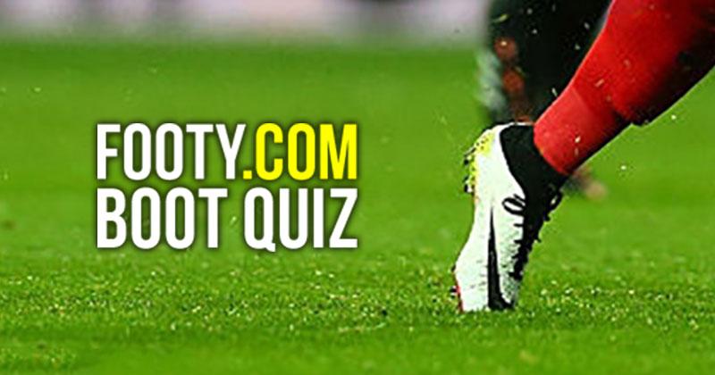 March Boot Spotting Quiz