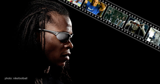 Image of Edgar Davids Nike Football