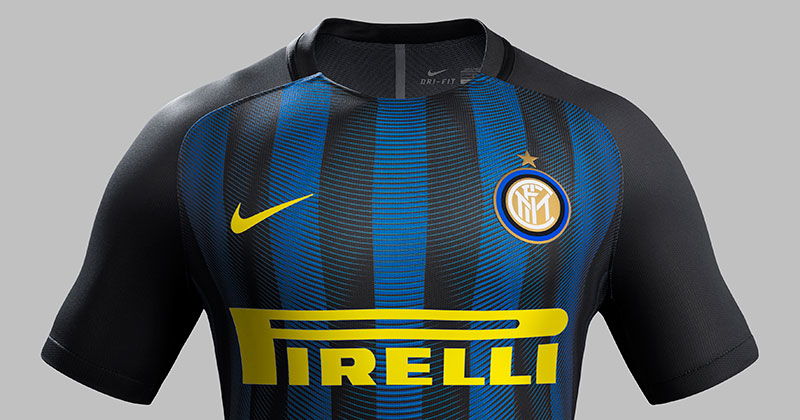 image of the new FC Internazionale Home and Away Kits 2016-17 by Nike for the Serie A