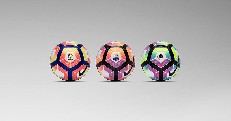 image of the new Nike Ordem 4 for the Premier League, La Liga and Serie A seasons.