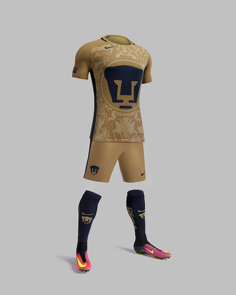 5b1dad57785 Nike Football have produced what we believe to be the most beautiful and  cultural kit Pumas UNAM has ever seen!