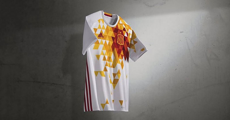 Worst Kits At Euro 2016 Image Spain Away