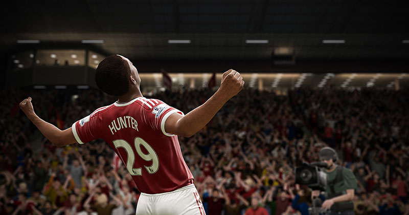 Image of the new FIFA 17 Reveal trailer with new Journey Mode