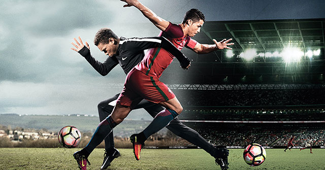 "Image of Nike's new short film, ""The Switch"" featuring Cristiano Ronaldo"