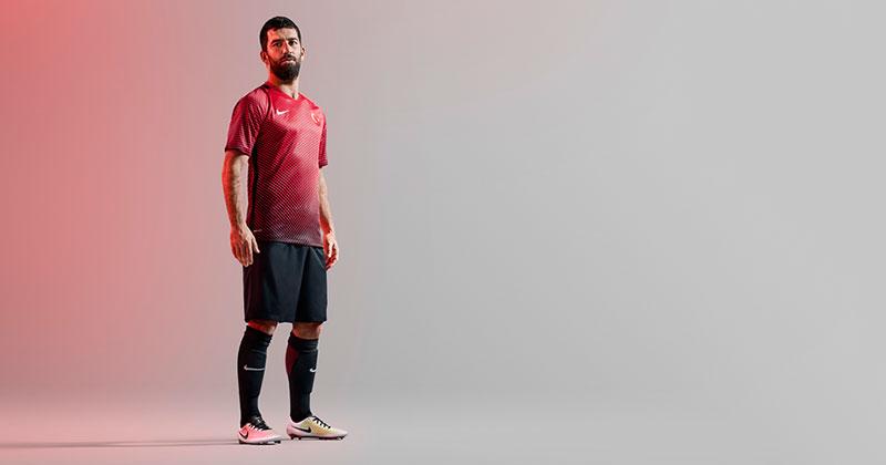 Nike Euro 2016 kit Turkey Home