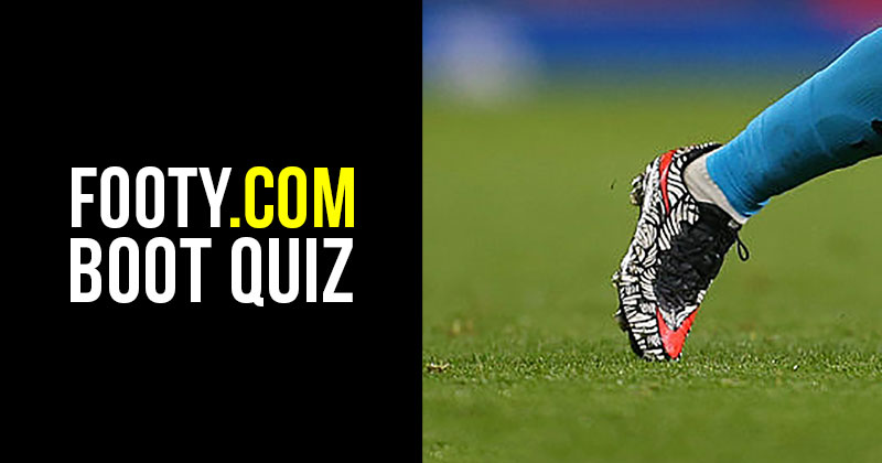 Football boot quiz Febuary