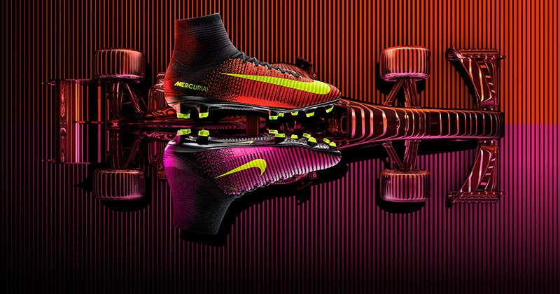 Image of the new Nike Football Mercurial Superfly V