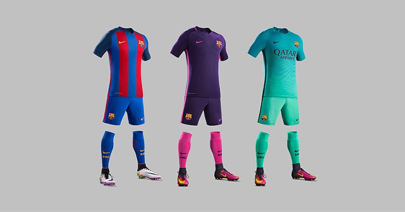 wholesale dealer 3394c 42ff7 New Nike Barcelona kits 16/17 | FOOTY.COM Blog