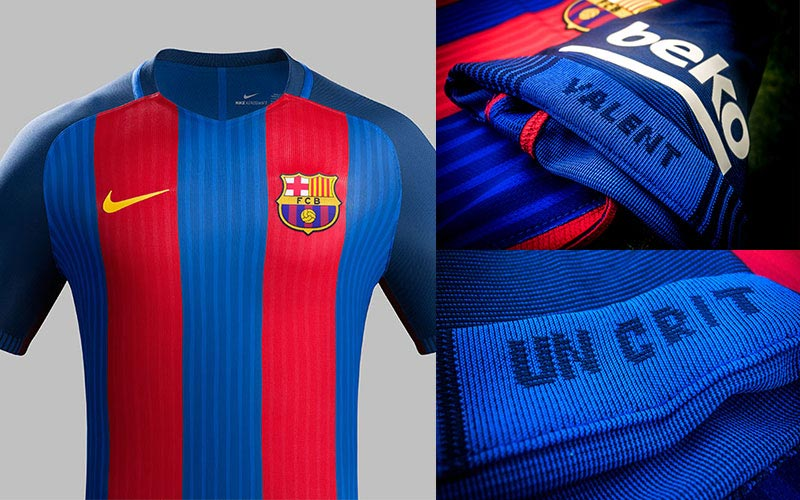 59fb9f819 They ve had some classic kits to go with some historic moments too  both  home and away. After Nike recently revealed the new Barcelona third shirt