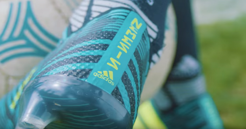 Heel of the Nemeziz 17 Boots