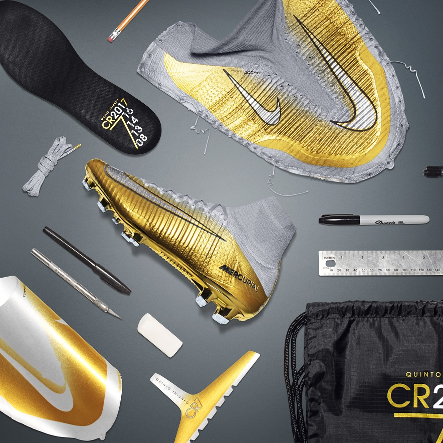 c8df2757ea4 CR7 Engineering Greatness  a deconstructed view of the stunning new Nike  boots.