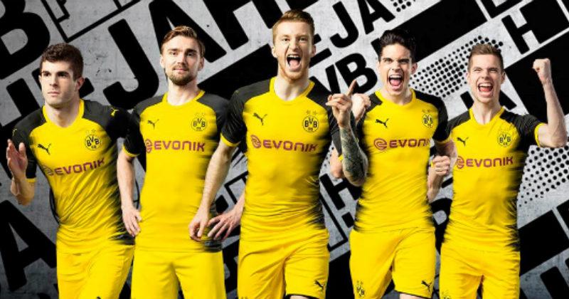 a83e13980 Borussia Dortmund 2017/18 Kits | FOOTY.COM Blog