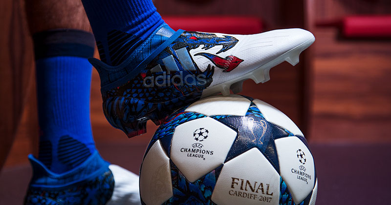 Image of UEFA Champions League 2017 Official Match Ball and X16