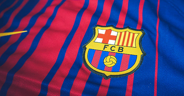 Image of Nike FC Barcelona 17/18 Home Shirt