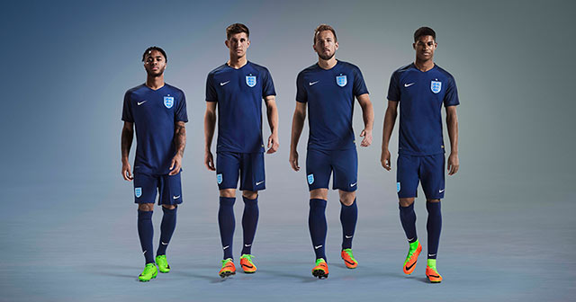 Image of England away kit