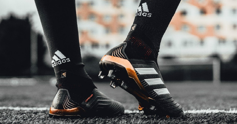 adidas Predator 18+ Black, Gold and Red