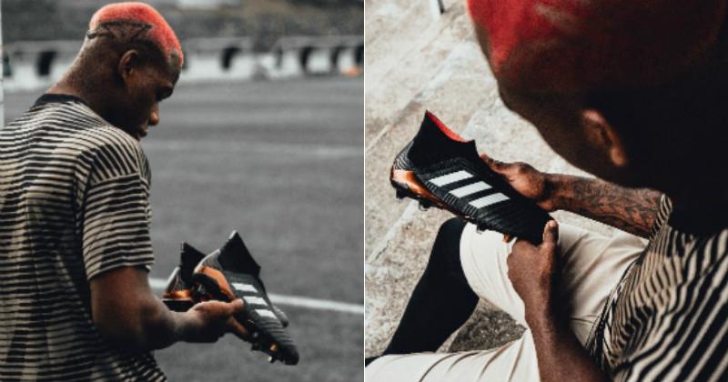 Pogback with the adidas Predators 18+
