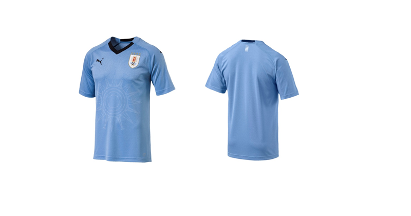 25b2c7638 Puma Release New Uruguay Kit For World Cup 2018