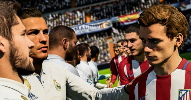 Fifa 18 Real Madrid vs Atlectico Madrid