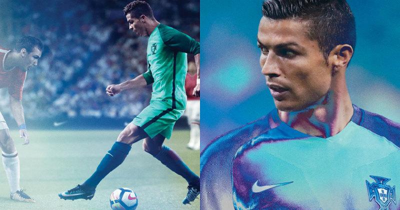 Cristiano Ronaldo with the Nike Mercurials