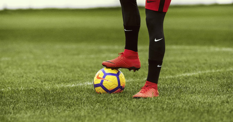 Play Fire Nike Mercurial Boots Standing
