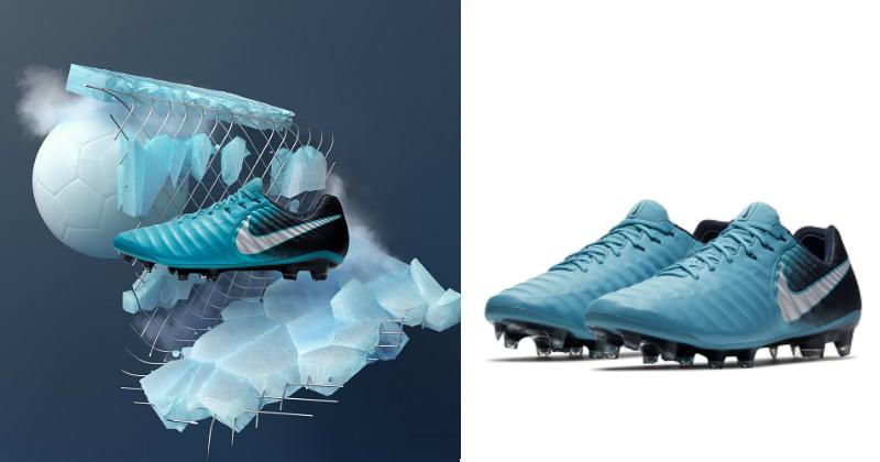 Play Ice Nike Tiempo Football Boots