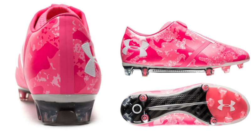 Pink Boots Under Armour