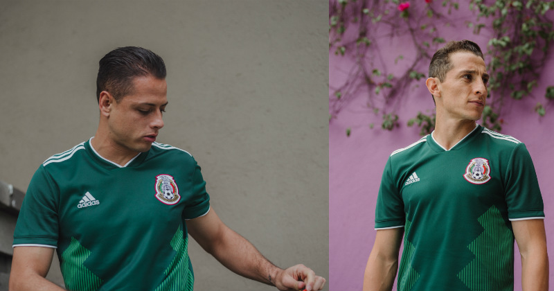 Mexico's new kit by Adidas