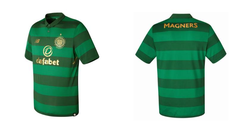 Celtic Kit for 2017/18 Season
