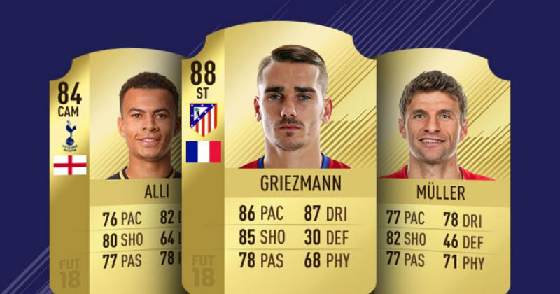 Fifa 18 Ultimate Team Cards