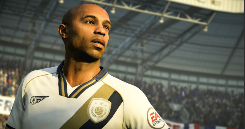 Thiery Henry in Fifa 18 Icons
