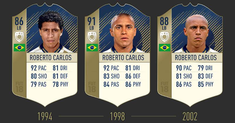 Roberto Carlos in FUT Icons
