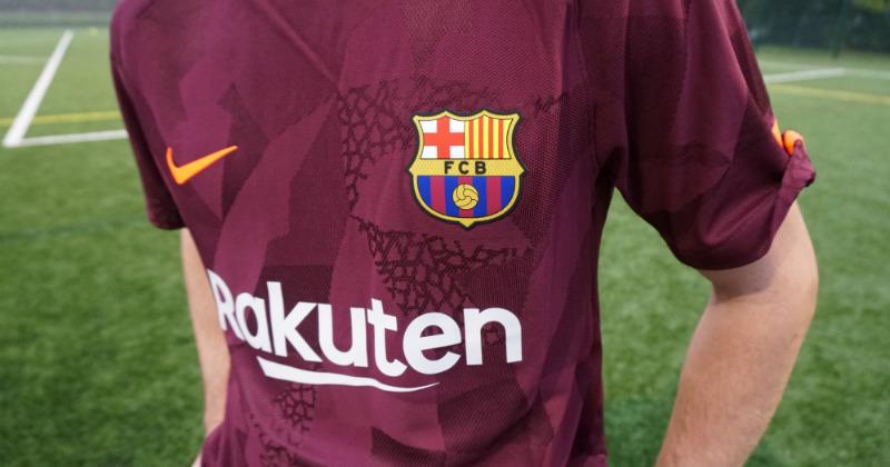 Barcelona's Third Kit