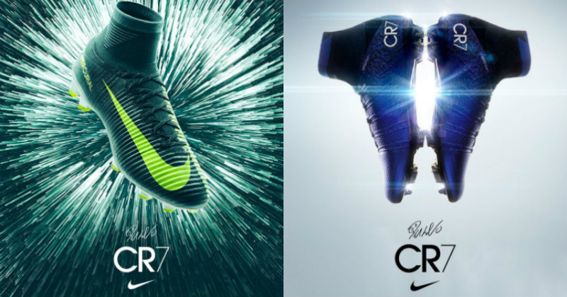 CR7 Football Boots Dual Image