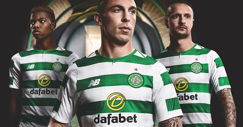 2f602ee8e Only the Bold - Celtic release new home shirt for 2018 19