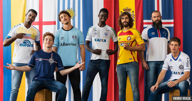 The new Umbro Nations collection