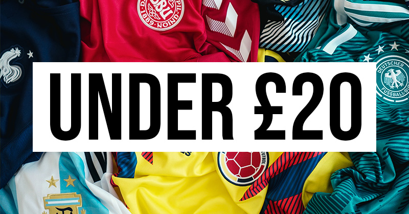 7 superb 5 a side football kits for under £20
