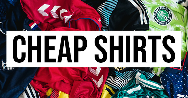 We find you the best deals on discount football shirts
