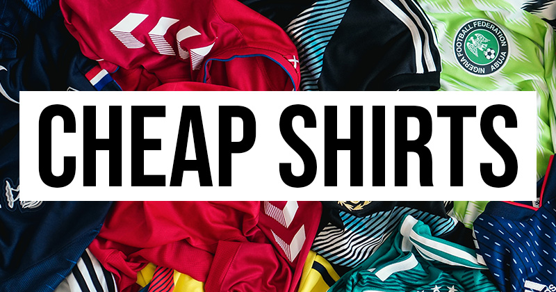 Cheap Kids Football Shirts Under £10
