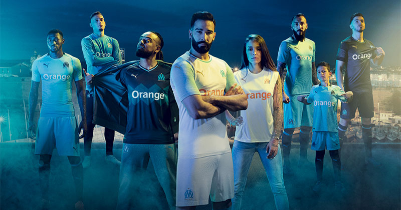 Marseille Unleash Sea-Inspired 2018/19 Kits