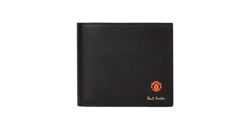 Manchester United X Paul Smith Vintage Rosette Print Wallet
