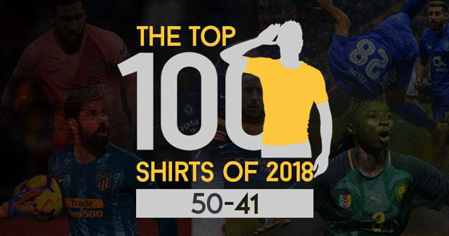 The Top 100 Shirts of 2018: 50-41