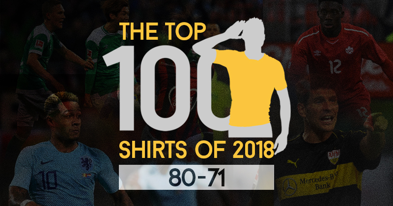The Top 100 Shirts of 2018: 80-71