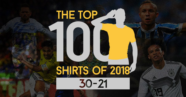 The Top 100 Shirts of 2018: 30-21