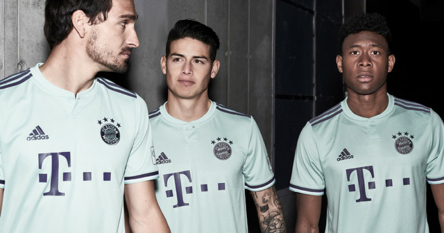Bayern Munich Launch Stylish 2018/19 Away Kit