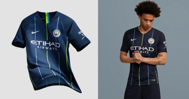 9086a35b9d3d Manchester City Unleash Dazzling New Away Kit