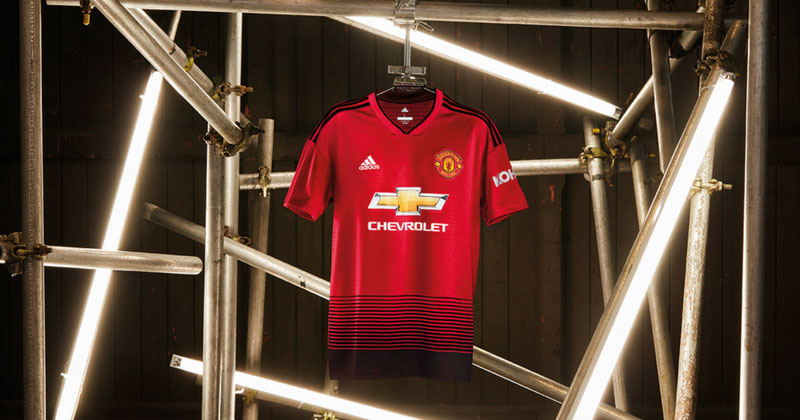 Adidas Release New Man United Home Kit