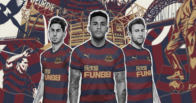 The 2018/19 Newcastle away shirt